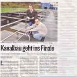 Pressebericht Kleine Zeitung 11/2008 - Scan aus Zeitung