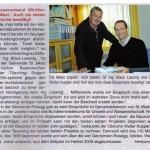 Pressebericht Der Rosentaler 11/2008 - Scan aus Zeitung