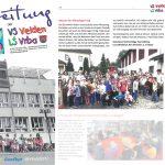 Pressebericht Schulzeitung der Volksschule Velden 07/2016 - Scan aus Zeitung